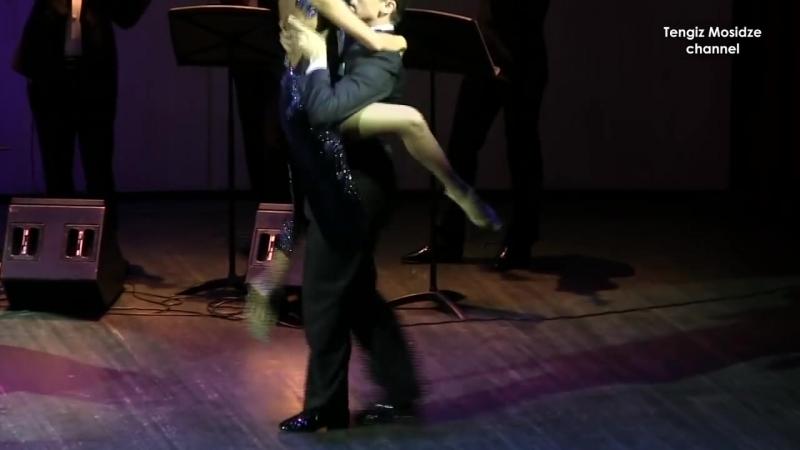 Tango El huracan. Sergey Kurkatov and Yulia Burenicheva with Solo Tango Orquesta