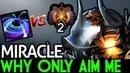 Miracle- [Clinkz] VS Solo BlackHole! Why Only Aim Me! 7.19 Dota 2