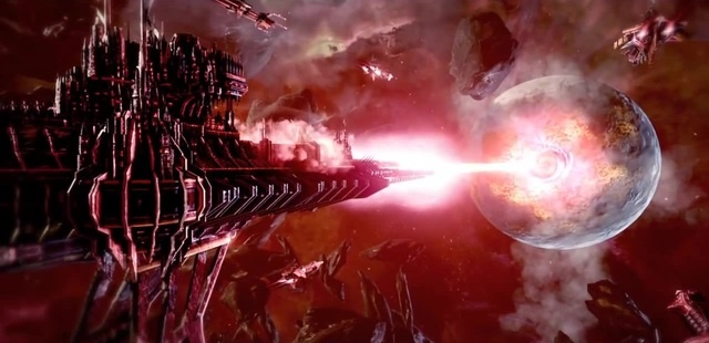 Battlefleet Gothic Armada - The Death Of Savaven Cut Scene