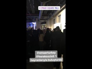 Бурак. (Кемаль), на презентации Emaar Square Mall.