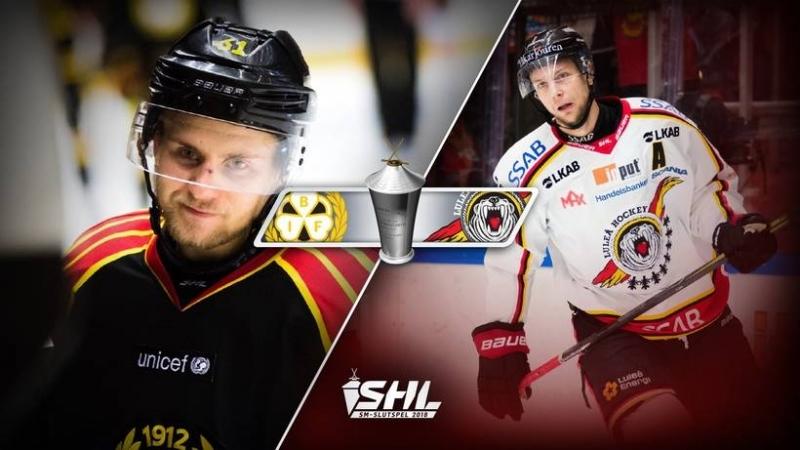 SHL Brynäs IF - Luleå Hockey 2018-03-14