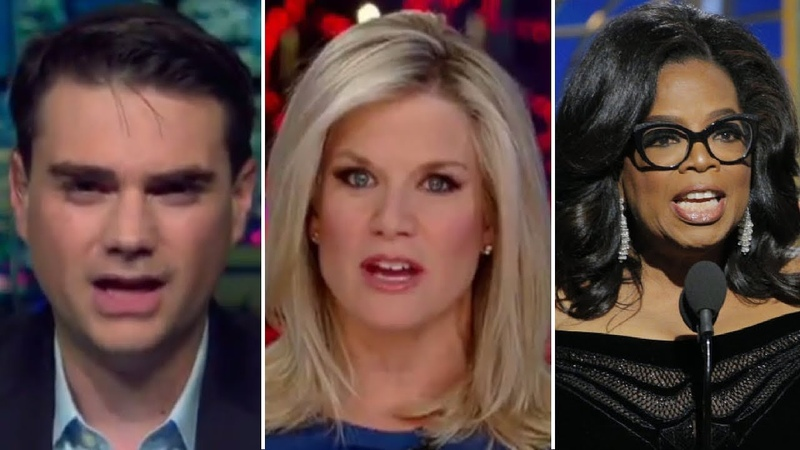 How Was She BRAVE?? Ben Shapiro RIPS Oprah's Golden Globes Speech on FOX