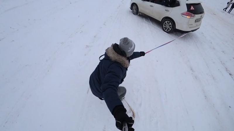 В Никола-Ленивце на сноубордах!