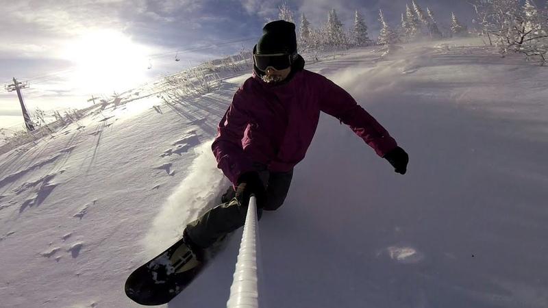 Just another powder sliding | Sheregesh | GoPro