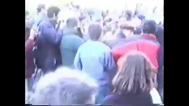 3 октября 1993.Прорыв оцепления.