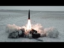 Russian Military Launch Iskander Nuclear Capable Ballistic Missile