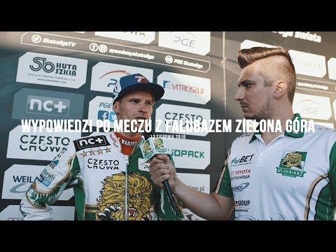 Włókniarz.tv Wypowiedzi po meczu z Falubazem Zielona Góra (Napisy)