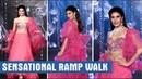 Jacqueline Fernandez Dazzles In Hot Pink At Wedding Junction Show