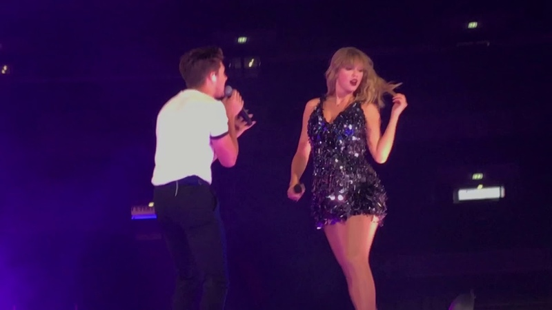 NIALL HORAN AND TAYLOR SWIFT SLOW HANDS REPUTATION TOUR LONDON