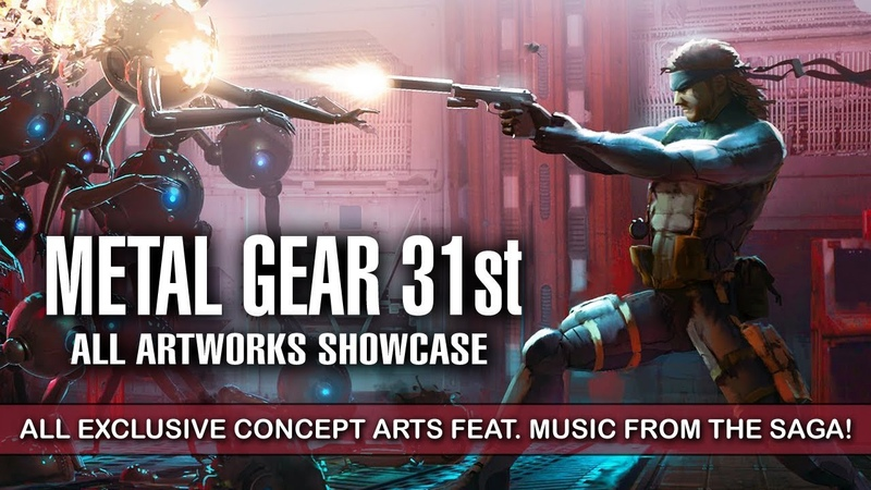 METAL GEAR SOLID MOVIE - All Concept Arts Feat. Music from the Saga! | 31st Anniversary