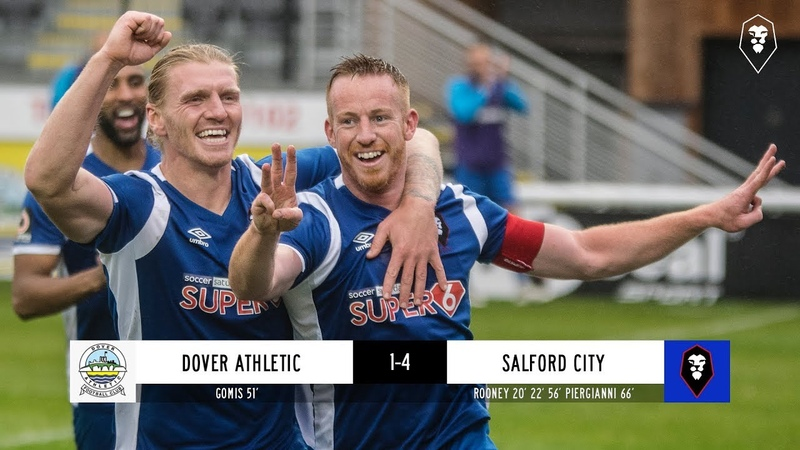 Dover Athletic 1-4 Salford City - National League 06/10/18