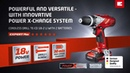 Einhell TE-CD 18 Li Cordless Drill with 2nd system battery