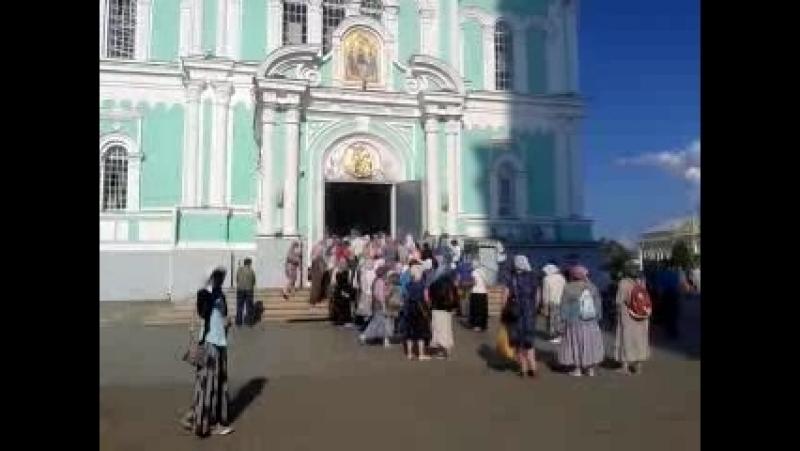 Перенесение мощей преподобного Серафима Саровского в Дивеево