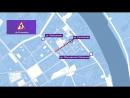 Движение транспорта по Обуховскому мосту ограничат почти до конца зимы