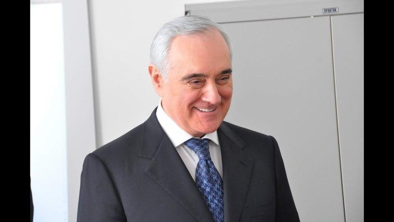 Заместитель полномочного представителя Президента в ЦФО Мурат Зязиков посетил Тамбов (16.04.2018)