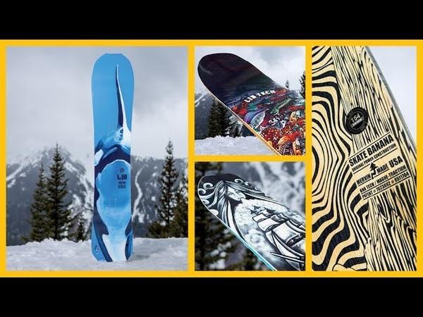 Four Lib Tech Snowboards 2019 Product Highlights | TransWorld SNOWboarding STOMP Summit