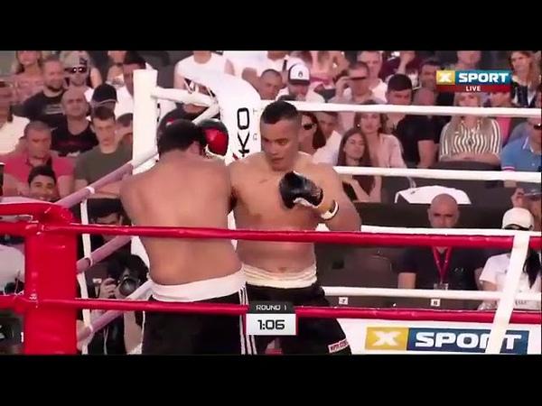 Видео шестой победы казахстанского супертяжа Жана Кособуцкого