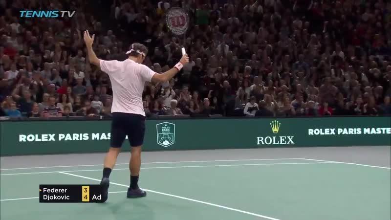 Федерер - Джокович Хот Шот (Betting good tennis)
