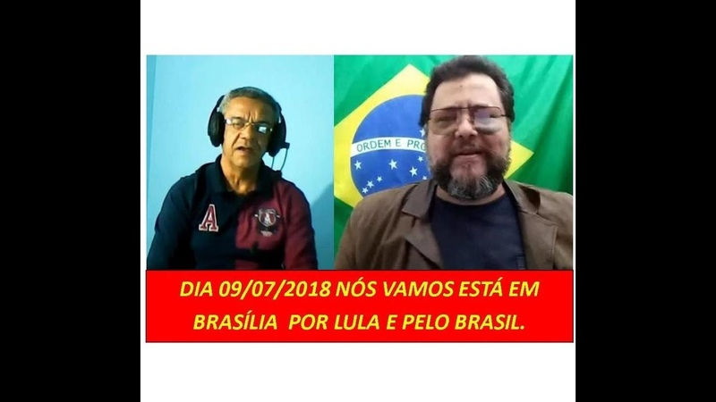 Brasil clama por sua constituição e ato em Brasília em 09/07/2018 hanha força.