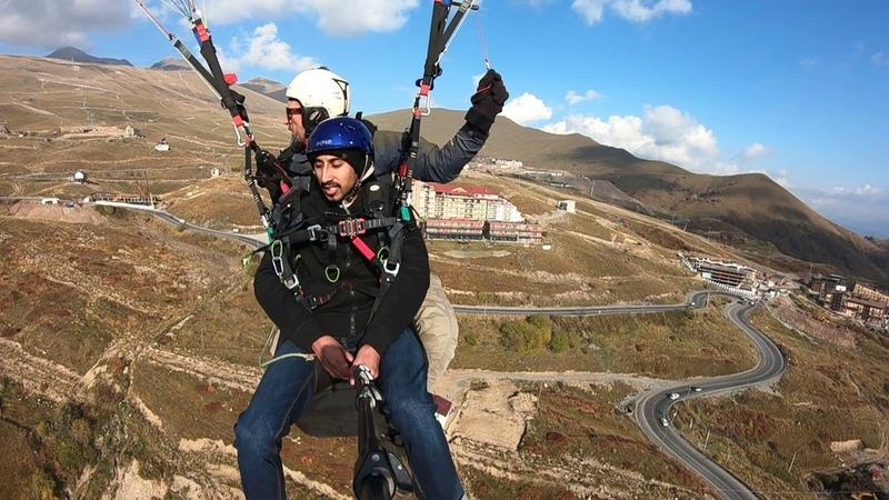 12102018 gudauri paragliding полет гудаури بالمظلات، جورجيا بالمظلات gudauriparagliding com 63