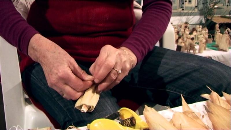Výroba panenky z kukuřičného šustí -- Dagmar Kunčarová (Perníčky 2012)