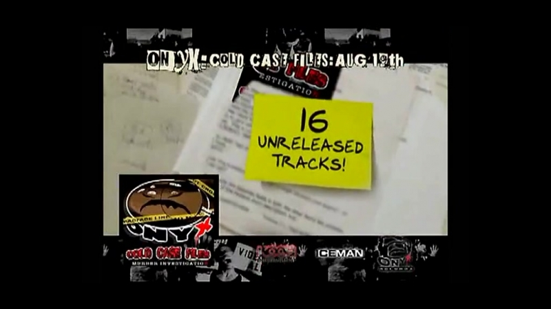ONYX - 2008 - Cold Case Files (Promo-Video)
