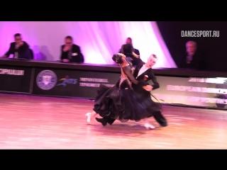 Dmitry Chelpanov - Yana Masharova RUS, Viennese Waltz _ WDSF European Championsh