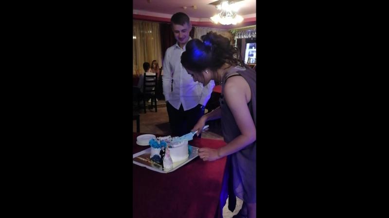 Наш свадебный торт👰🤵💞