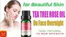 Масло чайного дерева на лице в ночное время | Для красивой кожи Используйте розовое лавандовое чистое эфирное масло
