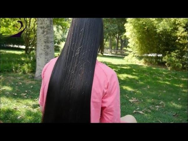 Watch one of the best LONG HAIR hair Silk