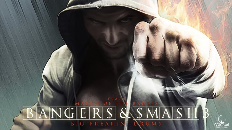 Epic Hybrid Percussion Music | album Bangers Smash 3 preview by Colossal Trailer Music