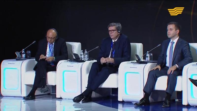 Н А Назарбаев упомянул о Биткойне Эфириум Даш Рипл Нео ТРК Хабар