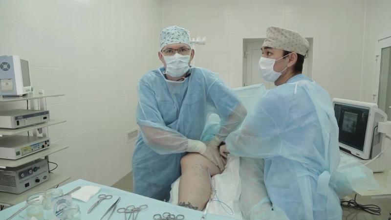 Лечение варикоза без операции биоклеем в Омега Клиник