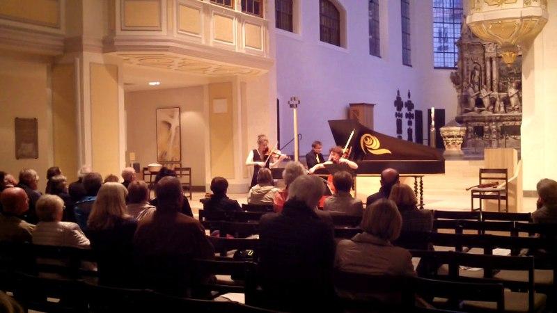 Rupert Ignaz Mayr: Sonate D-dur - Maren Ries, Ariane Spiegel, Stanislav Gres (NeoBarock)
