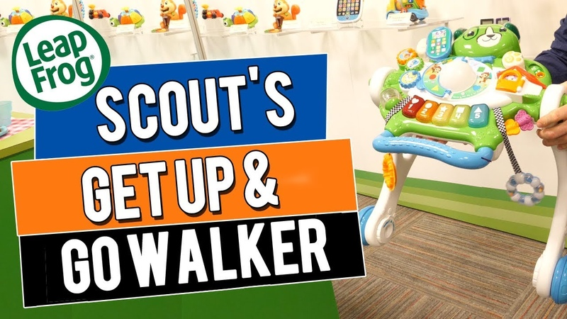 LeapFrog Scouts Get Up and Go Walker