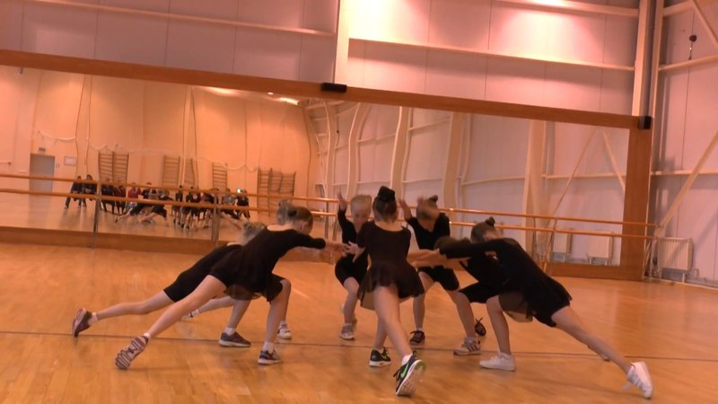 Открытый урок по хореографии у фигуристов.2 часть. Саранск 11.05.2017