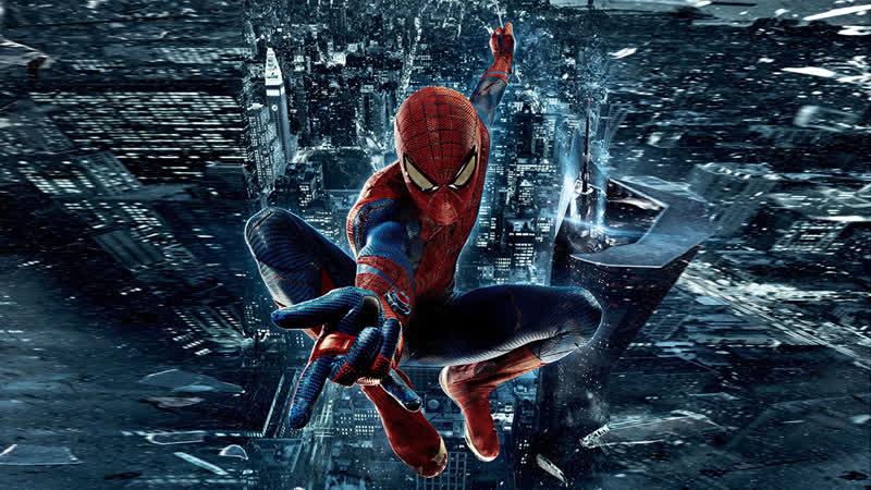 Новый Человек паук Высокое напряжение Человек паук Возвращение домой