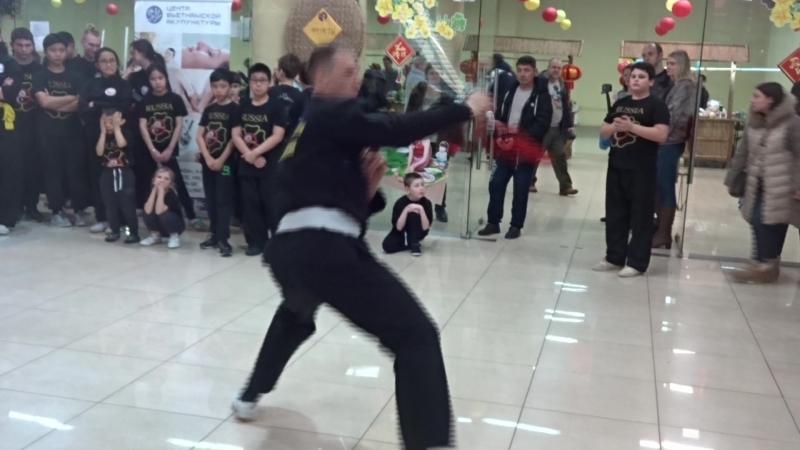 Ката какого-то там боевого искусства