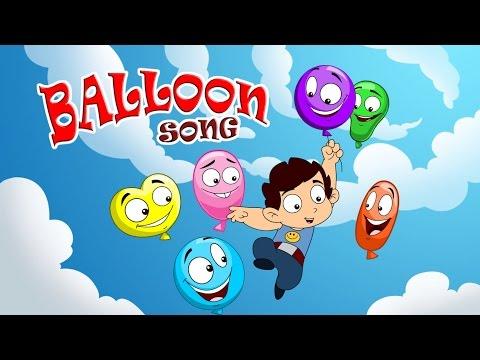 Balloon Song |Popular Nursery Rhymes | Laughing Dots kids Nursery Rhymes