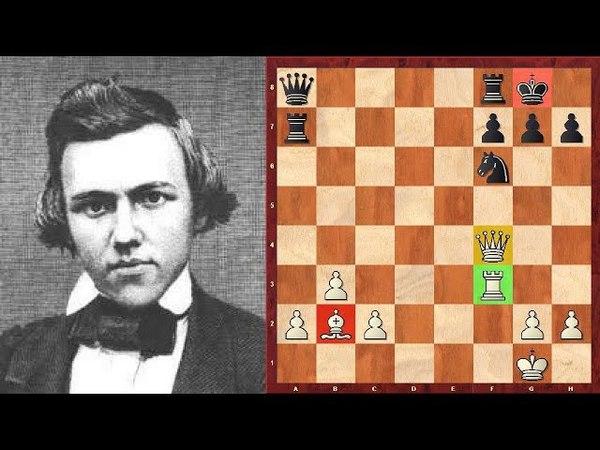 Шахматы. А вы умеете ставить МАТ МОРФИ? Школа шахмат d4-d5
