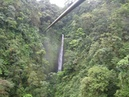 Zip Line Canopy Tour over Waterfalls Costa Rica at Volcan Arenal con Mundo Adventura tour company