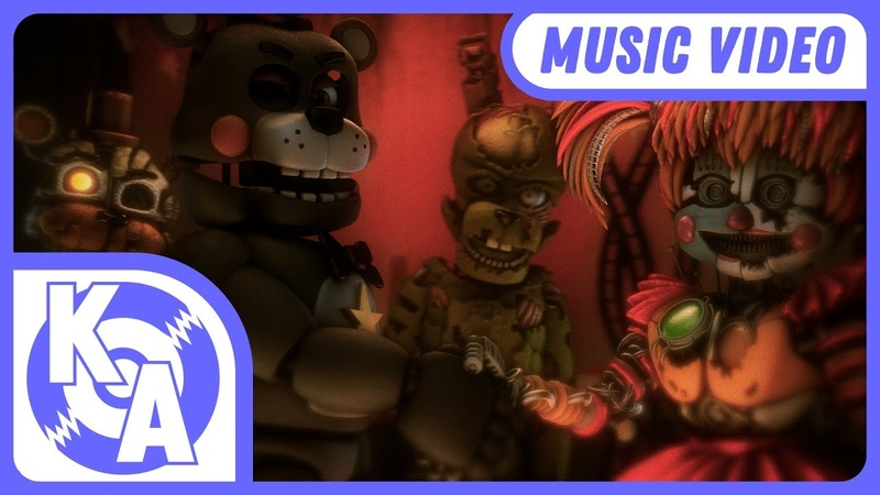 Going Back FNAF 6 Song (feat TryHardNinja Caleb Hyles)