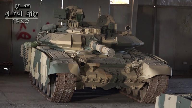 Тридцать пятая бригада 9-й бронетанковой дивизии оснащена российским танком (T90)
