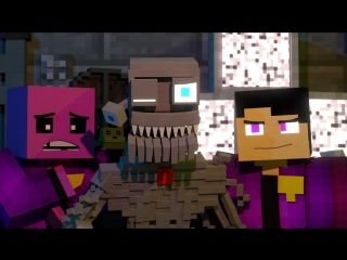 'Welcome Back' - FNAF Minecraft Music Video - 3A Display (Song by TryHardNin.mp4