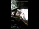Car Flash White Girl