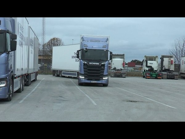 The Next Generation Scania We travel with a Scania V8 S730 outside Visby Nov 2016