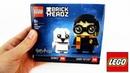 LEGO BRICK HEARDZ Harry Potter Hedwig! Гарри Поттер и Букля Обзор и сборка конструктора ЛЕГО