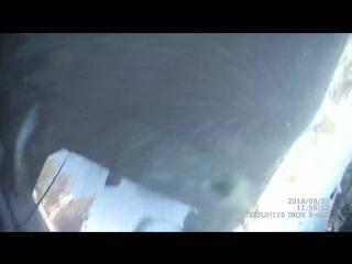 Видео момента ДТП возле ДОМА БЫТА