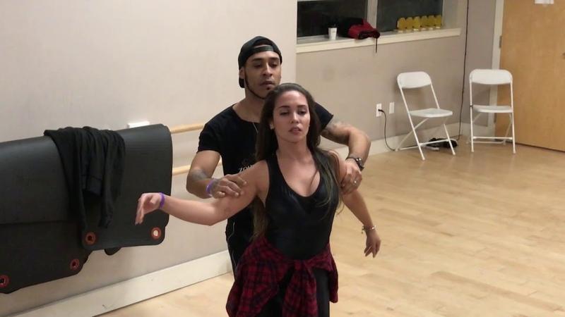 William Teixeira and Paloma Alves Zouk at Boston Brazilian Dance Festival 2018