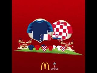 McDonald's FIFA #WorldCupFantasy: готовимся к финалу